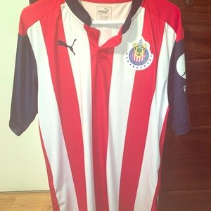 Chivas jersey size large two times used